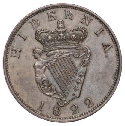 Ireland, George IV (1820-30), Penny, 1822
