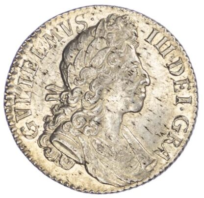 William III (1694-1702), Shilling, 1700, fifth bust, small 0's