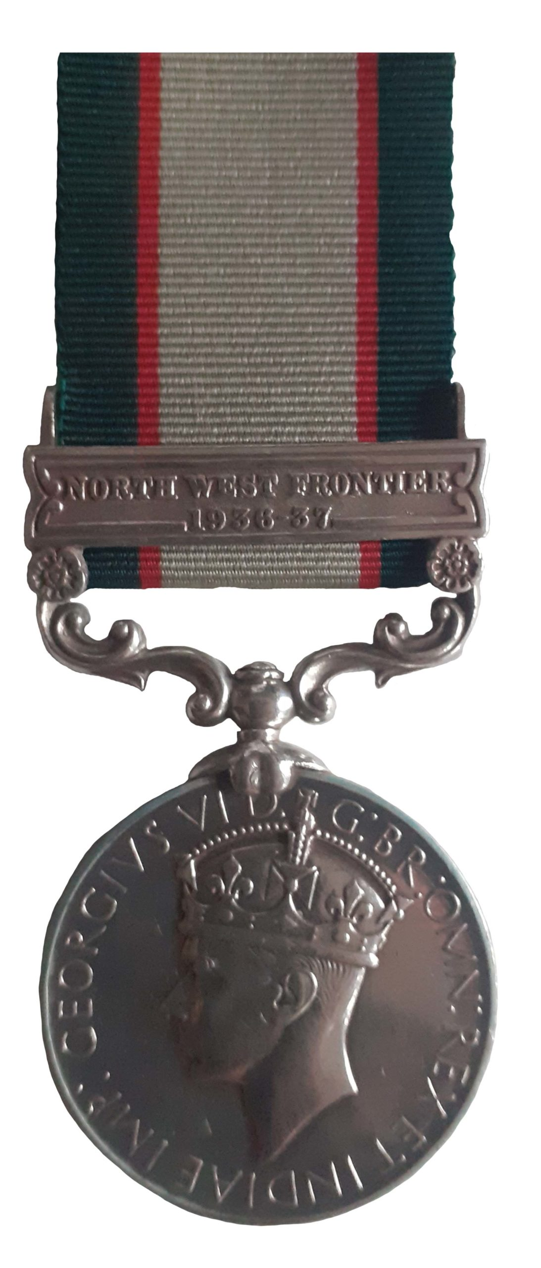 India General Service Medal 1936-39, one clasp, to Sepoy Rasul Khan