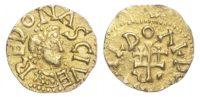 Merovingians, Rennes (AD 590-675) AV Tremissis - extremely rare