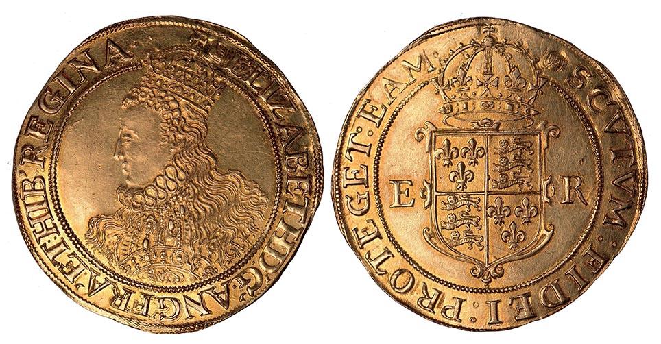 Elizabeth I (1558-1603), Pound, Sixth Issue, mintmark Tun. Exceptional.