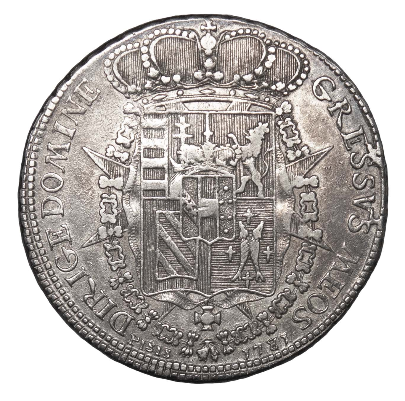 Italy, Tuscany, Peter Leopold (Leopold II), 1 Silver Francescone, 1781