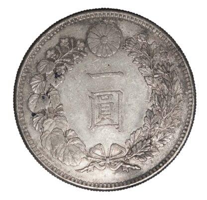 JAPAN, SILVER YEN, MEIJI, YEAR 25, 1892