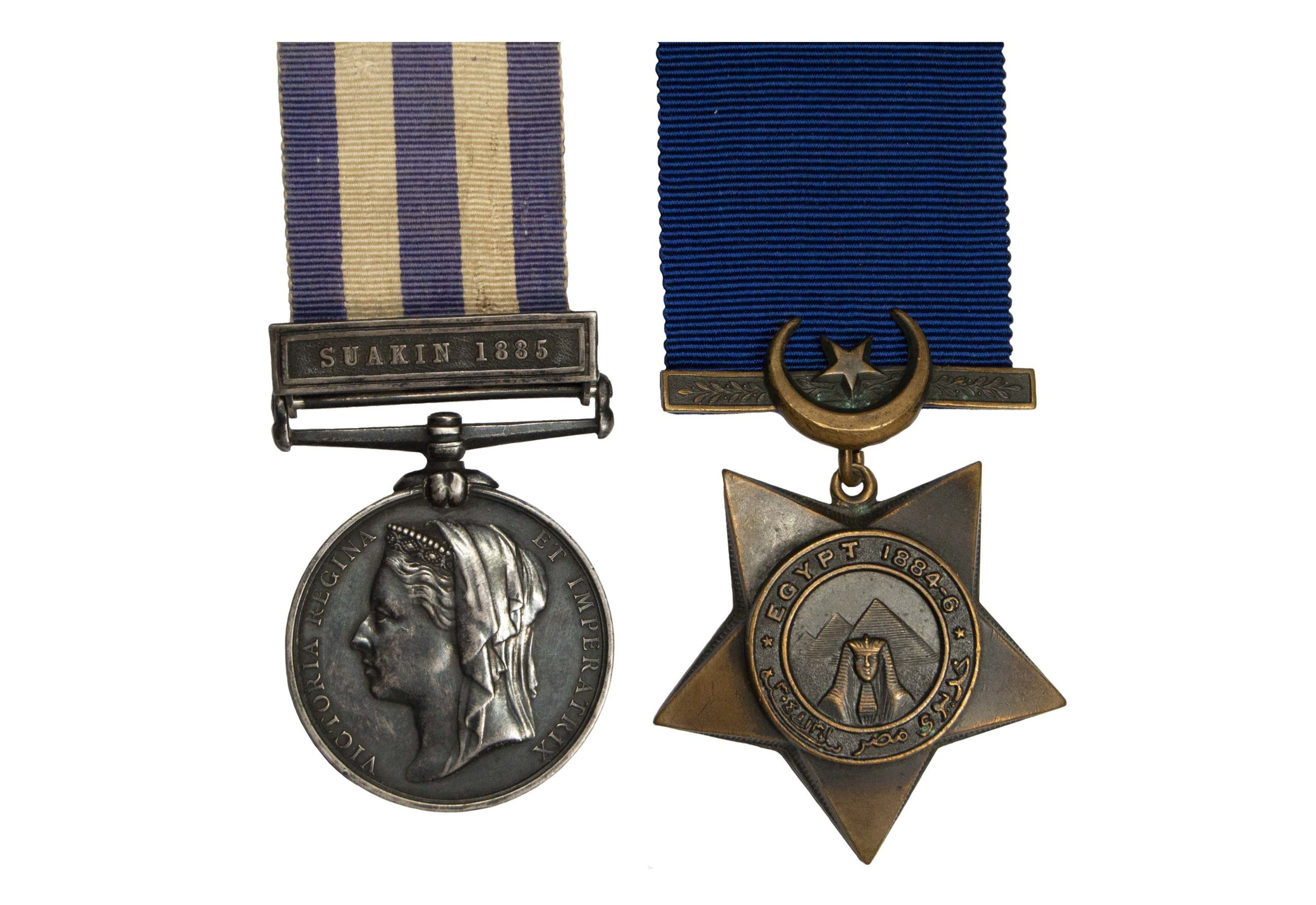 Egypt Pair to Ordinary Seaman G. Parry H.M.S. Carysfort