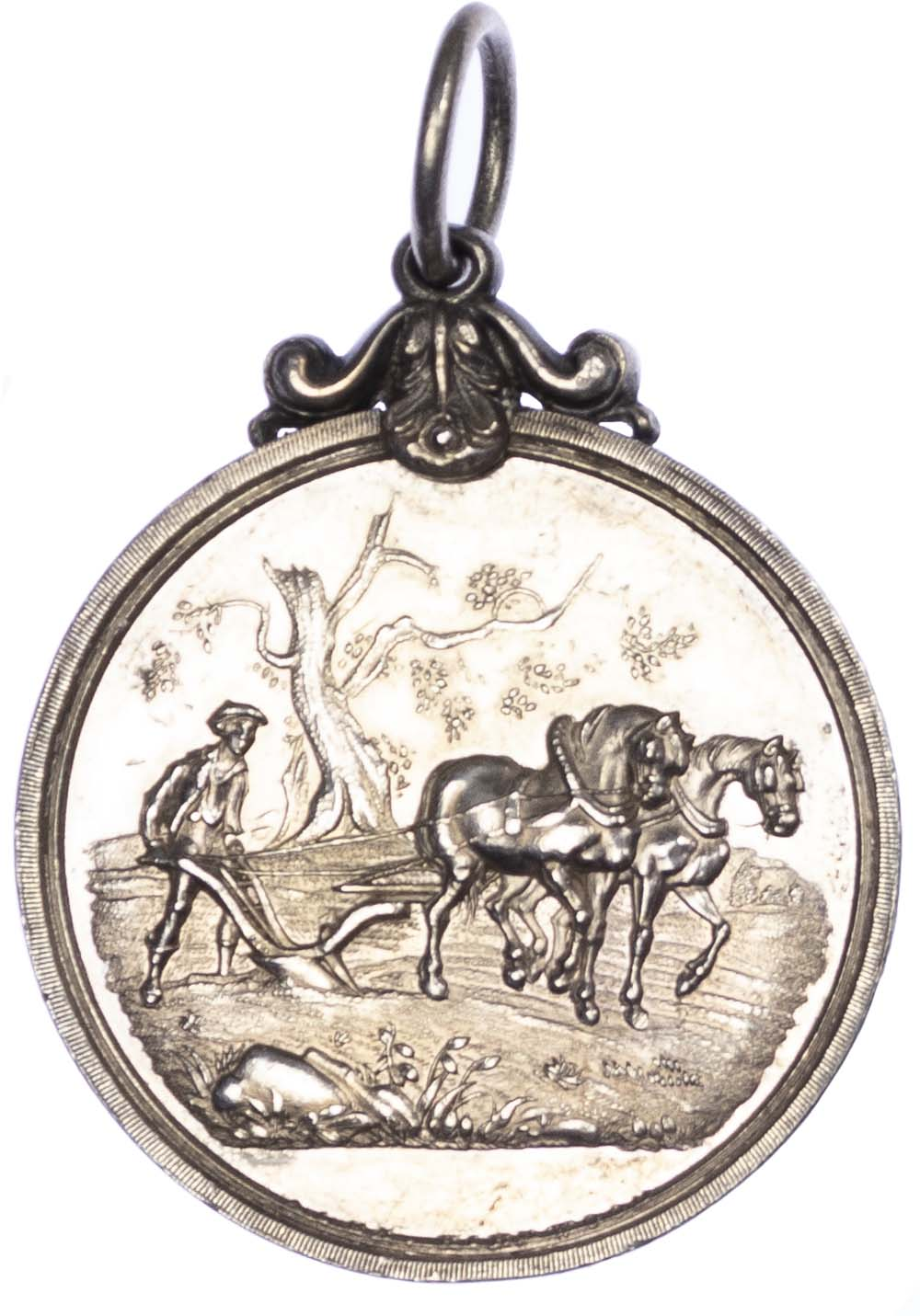 Agricultural prize medal, Highland and Agricultural Society of Scotland Silver medal 1864