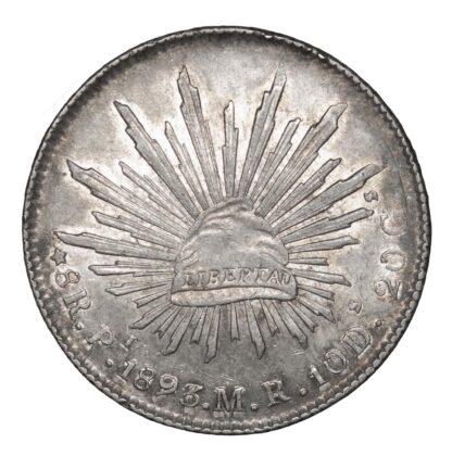 Mexico, Republic, Silver 8 Reales, 1893 MR