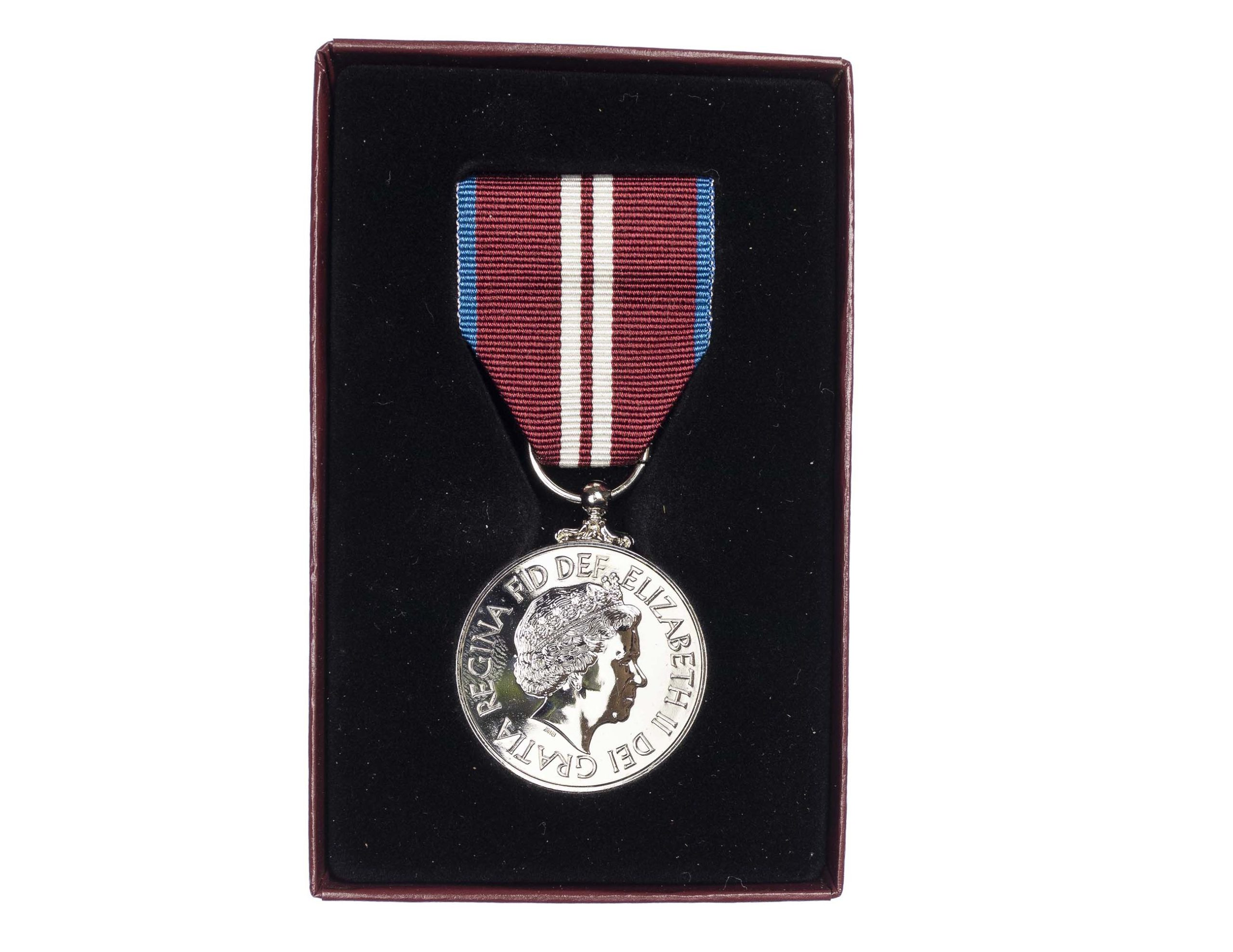 The Queen's Diamond Jubilee Medal 1952-2012