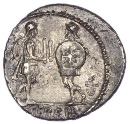 C. Servilius, Silver Denarius