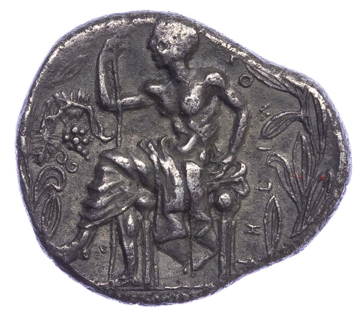 Bruttium, Rhegion, Silver Tetradrachm