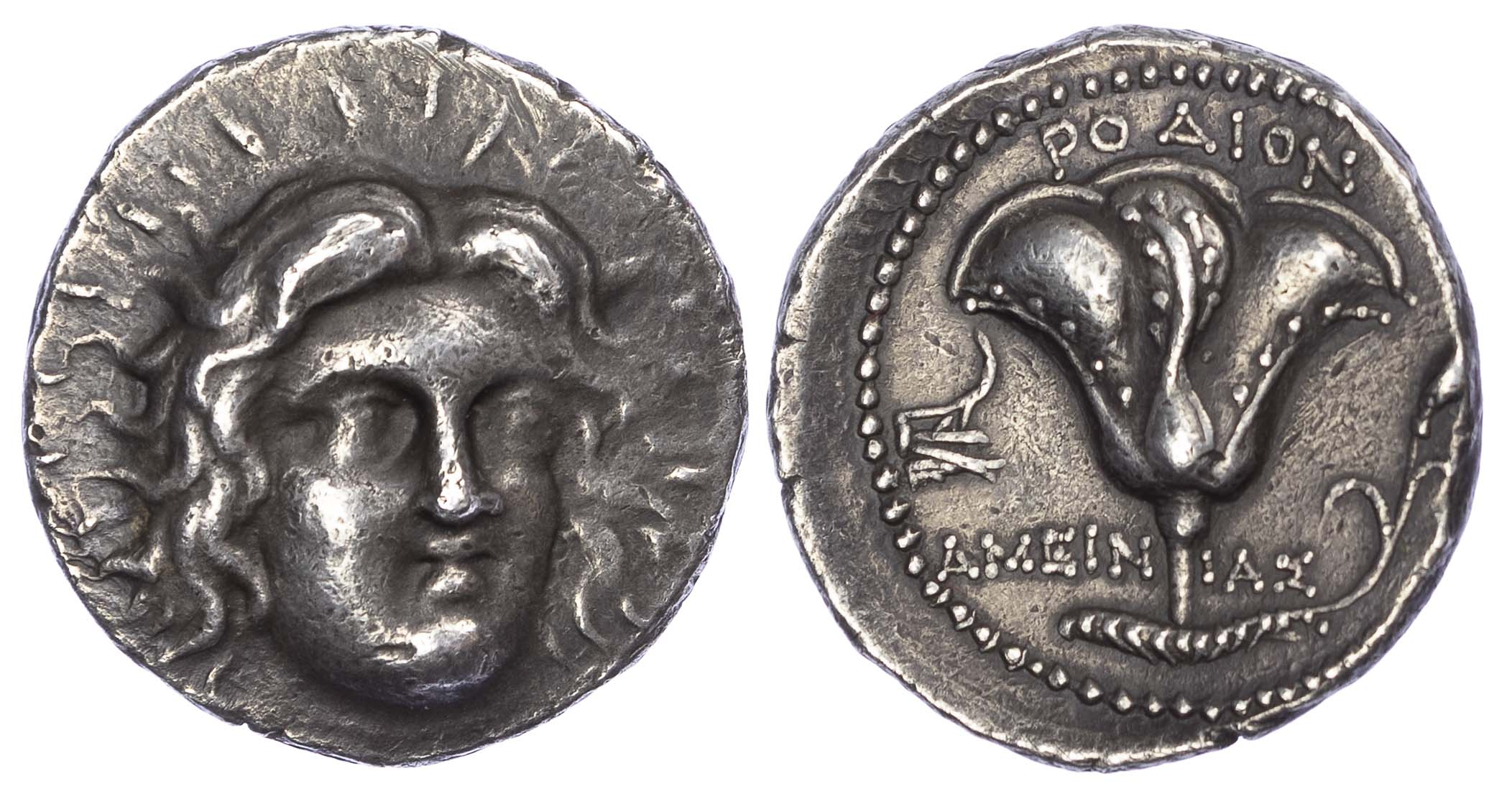 Rhodes, Silver Tetradrachm