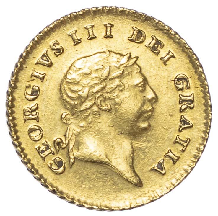 George III (1760-1820), 1810, Third Guinea, Second head