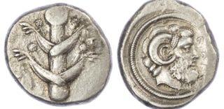Barce, Silver Tetradrachm