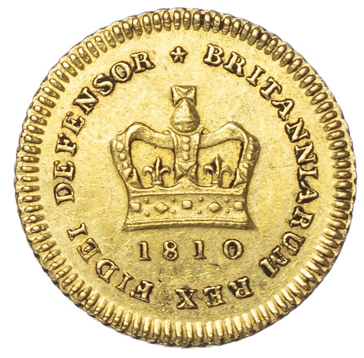 George III (1760-1820), 1810, Third Guinea