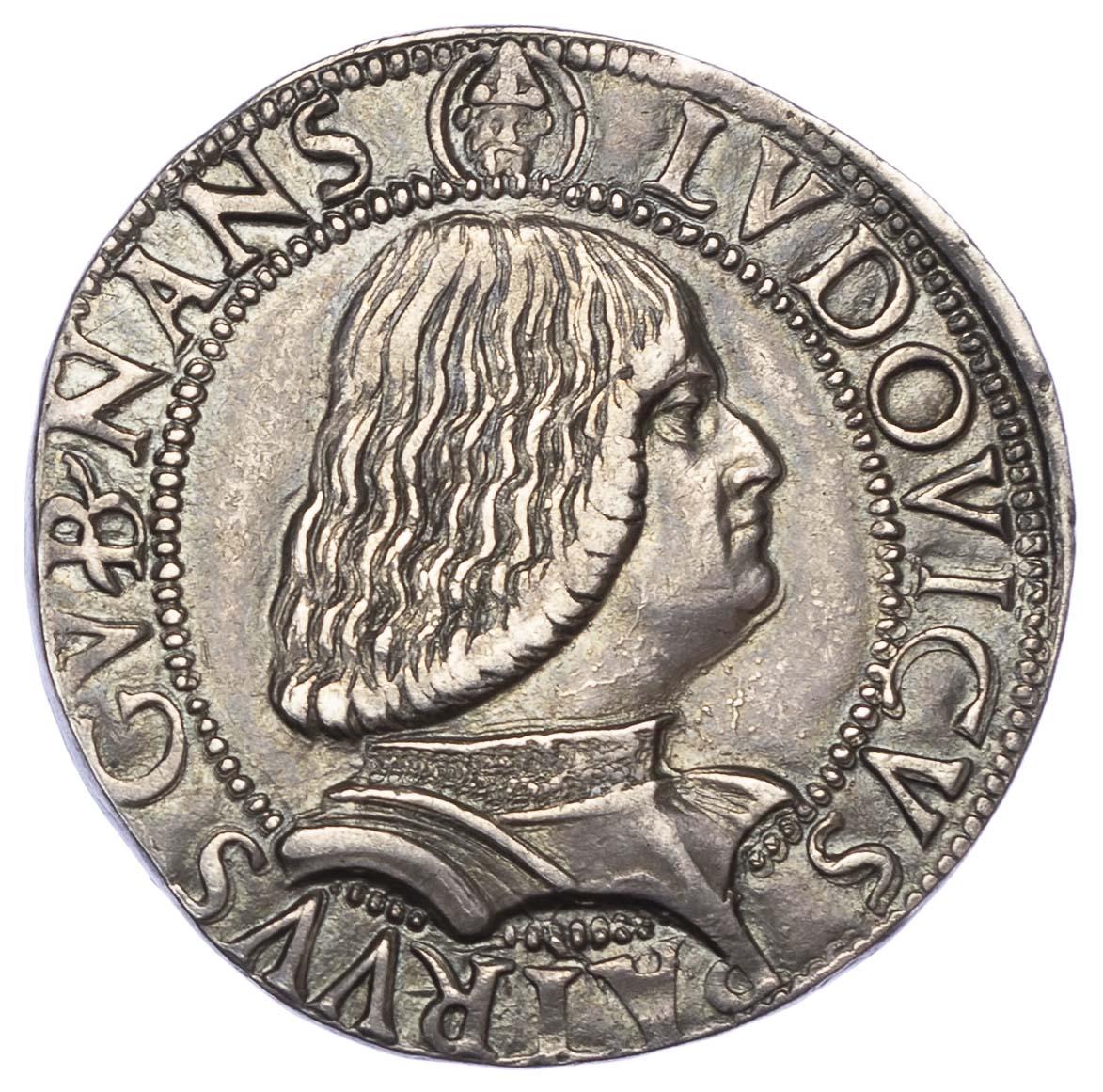 Italy, Milan, Gian Galeazzo Maria Sforza & Ludovico Maria Sforza (1476-94), silver Testone