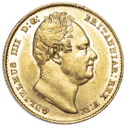 William IV (1830-37),1836 Sovereign