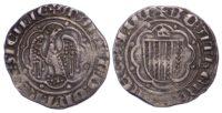 Italy, Sicily, Martino I (il Giovane), Silver Pierreale (1402-1409)