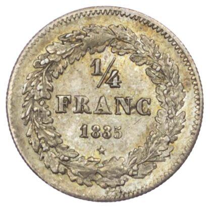 Belgium, Leopold I (1831-65), silver 1/4 Franc, 1835