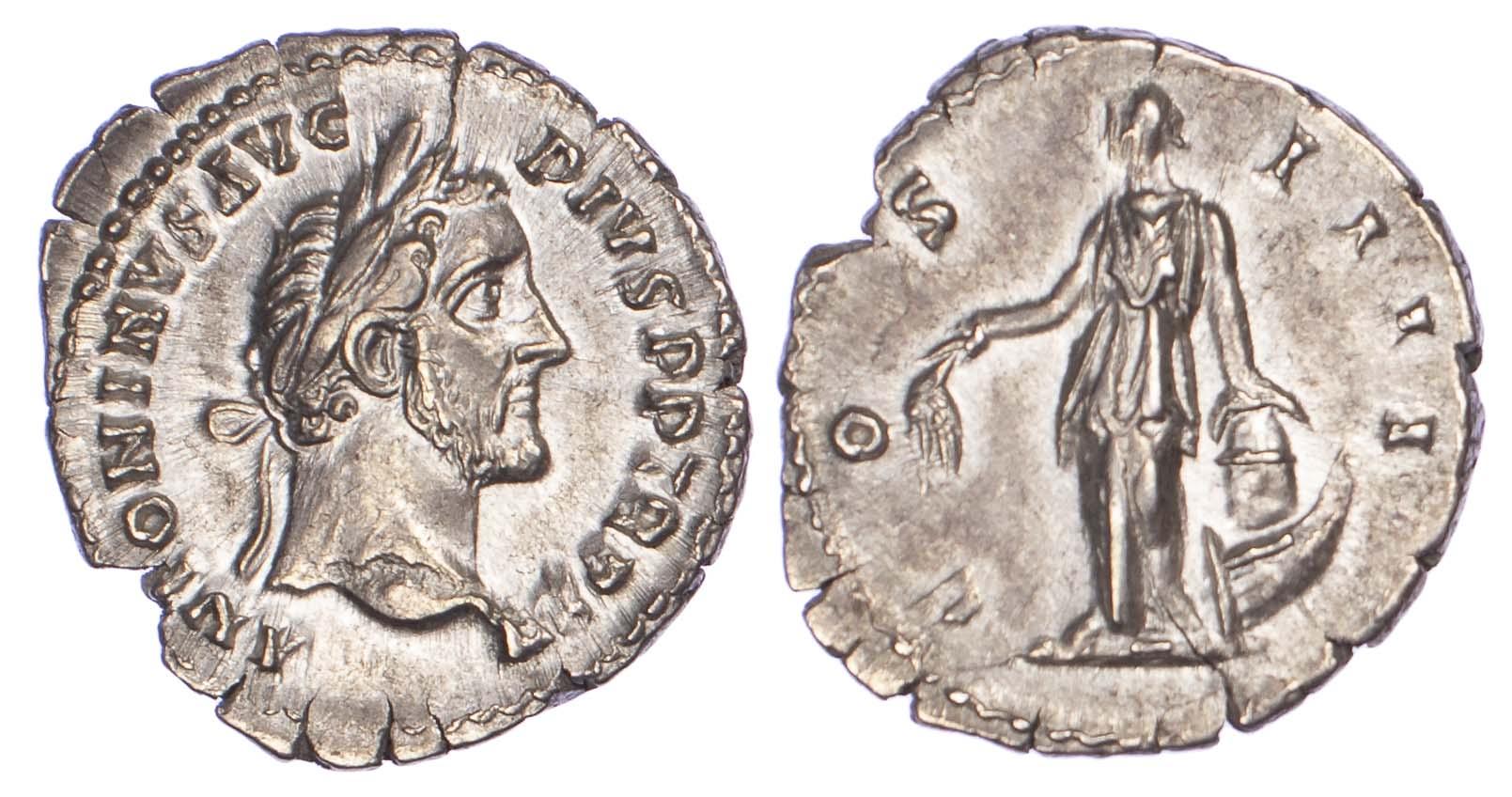 Antoninus Pius, Silver Denarius