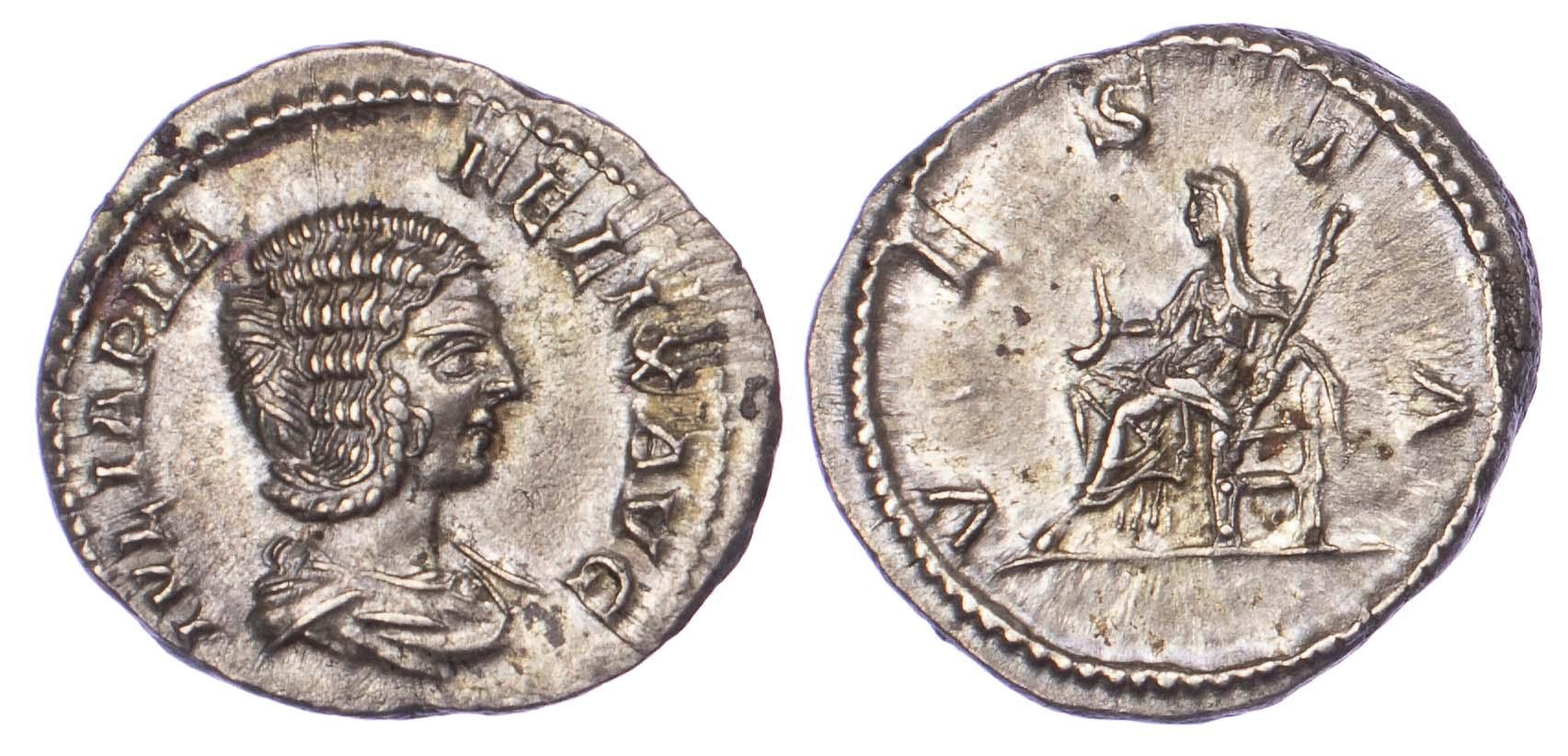 Julia Domna, Silver Denarius