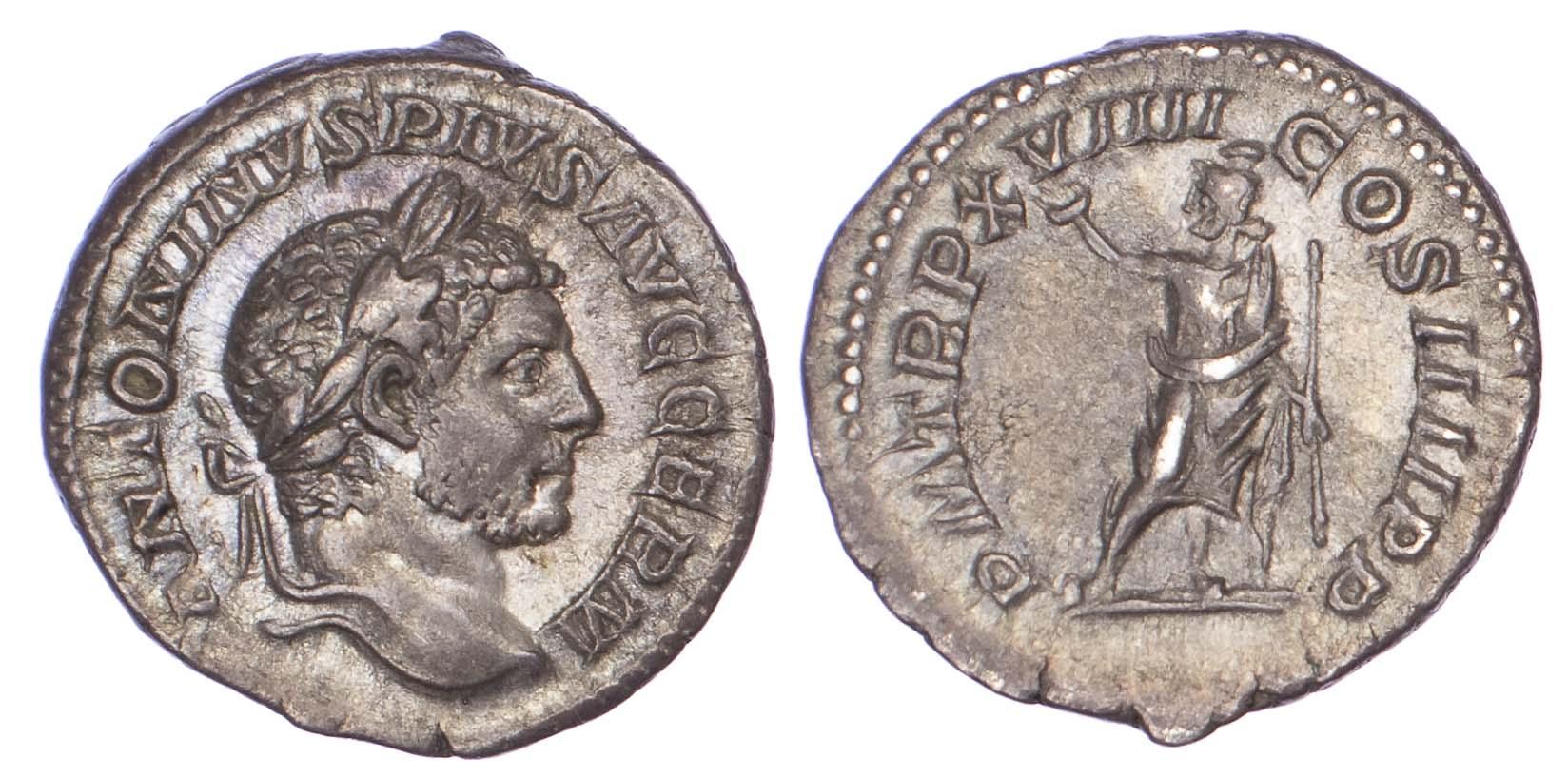 Caracalla, Silver Denarius