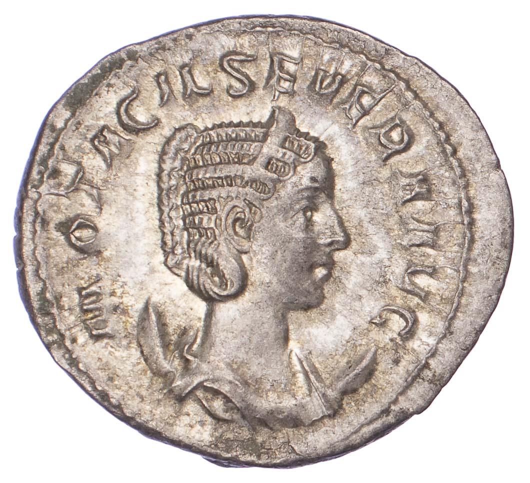 Otacilia Severa, Silver Antoninianus