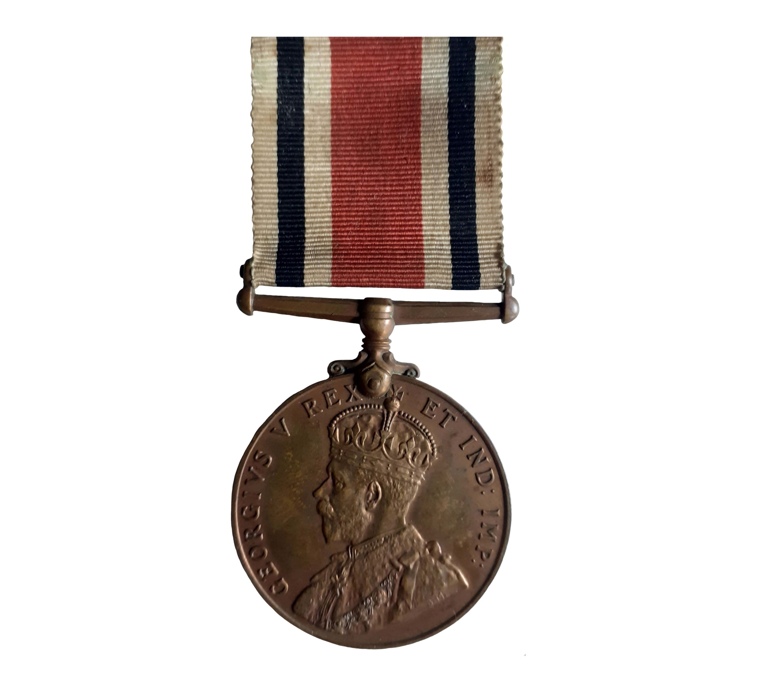 Special Constabulary Long Service Medal, GVR, to William J. Garland