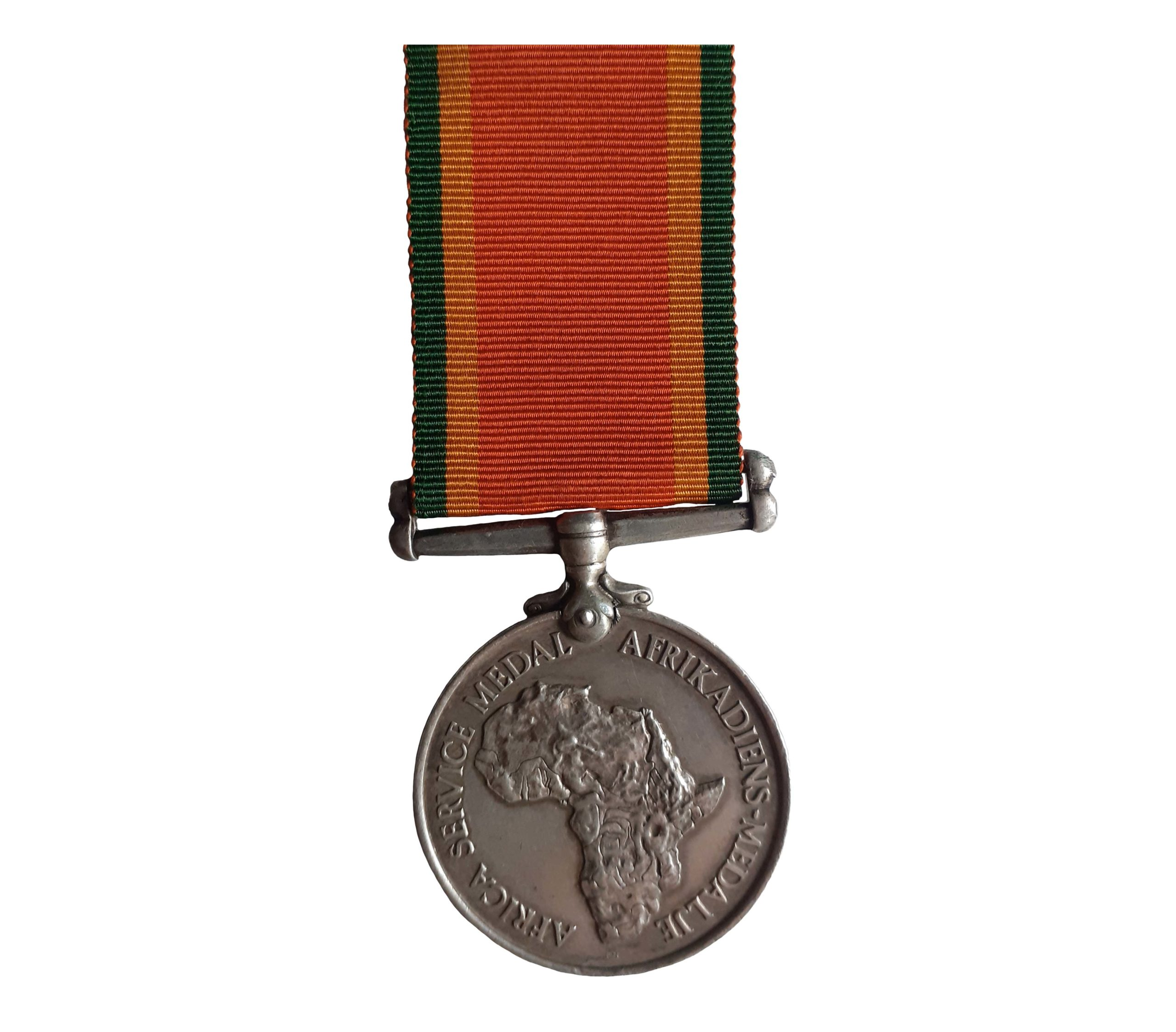 A WW2 South African Service Medal to P. R. Martin