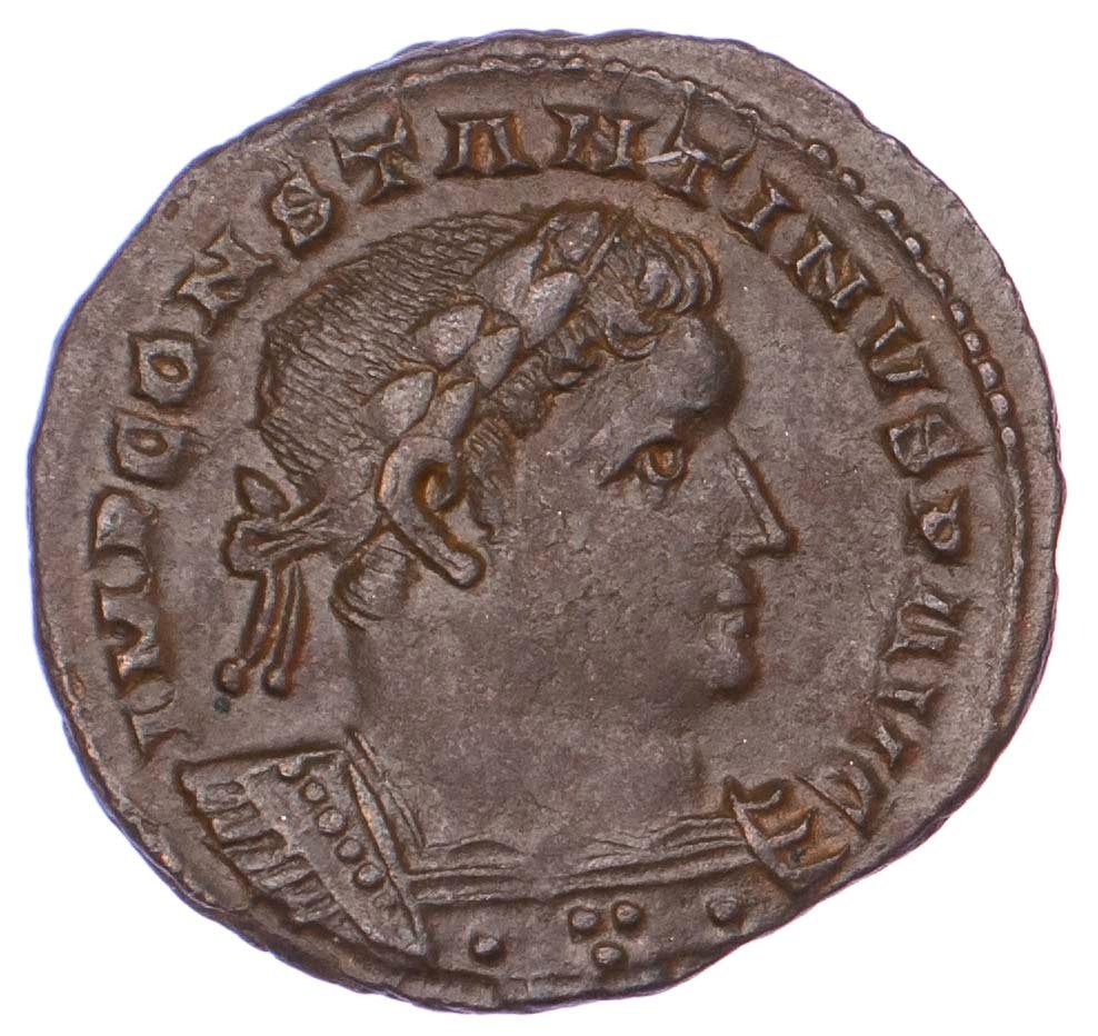 Constantine I, London Mint Follis