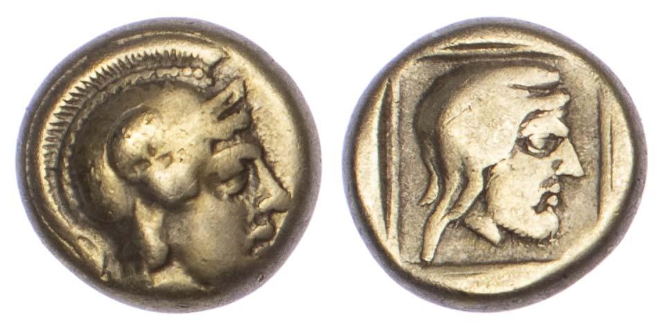 Lesbos, Mytilene, Electrum Hekte