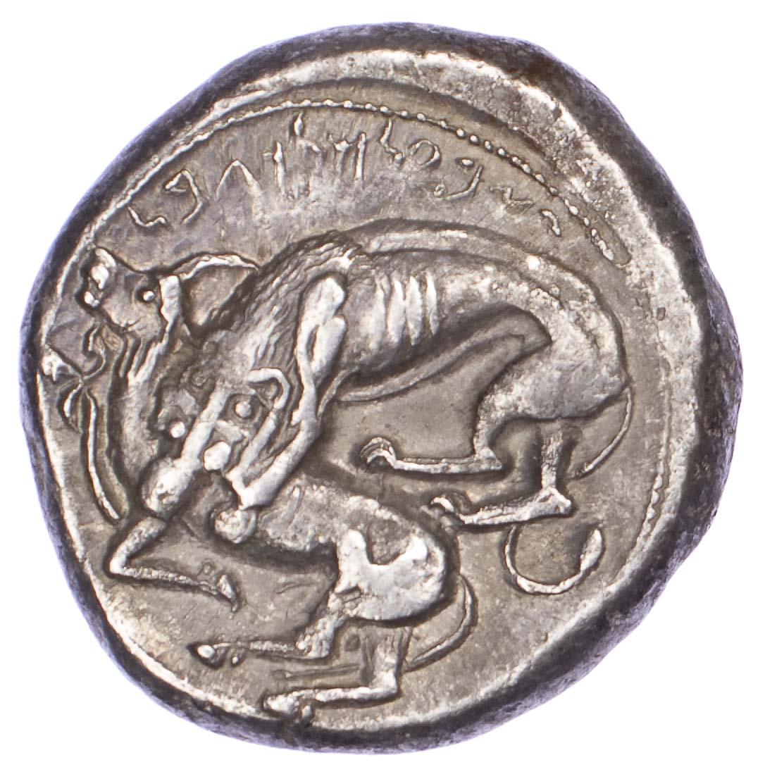 Phoenicia, Byblos, Silver Dishekel