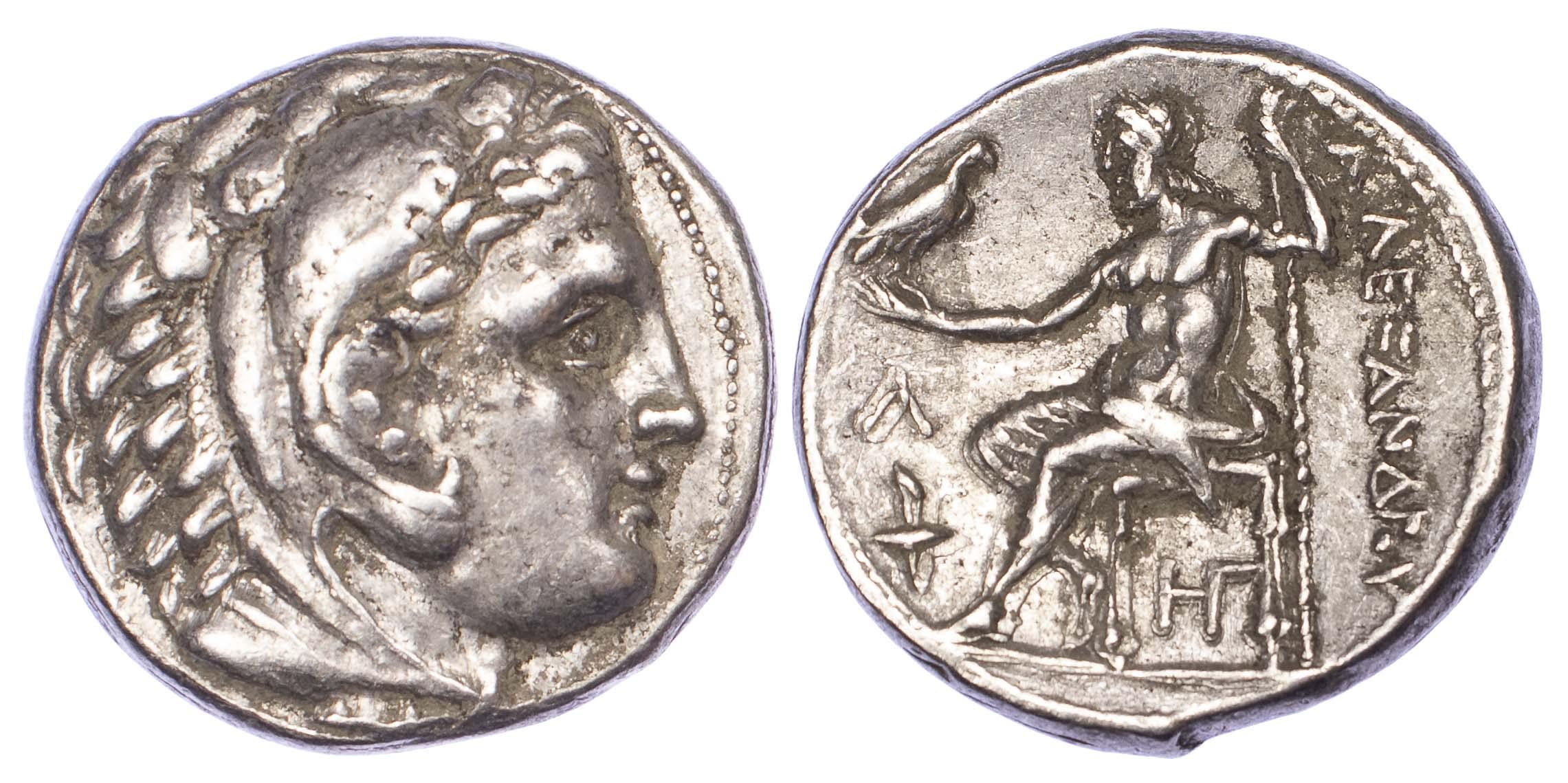 Kingdom of Macedon, Alexander the Great, Silver Tetradrachm