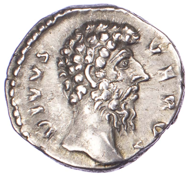 Divus Lucius Verus, Silver Denarius