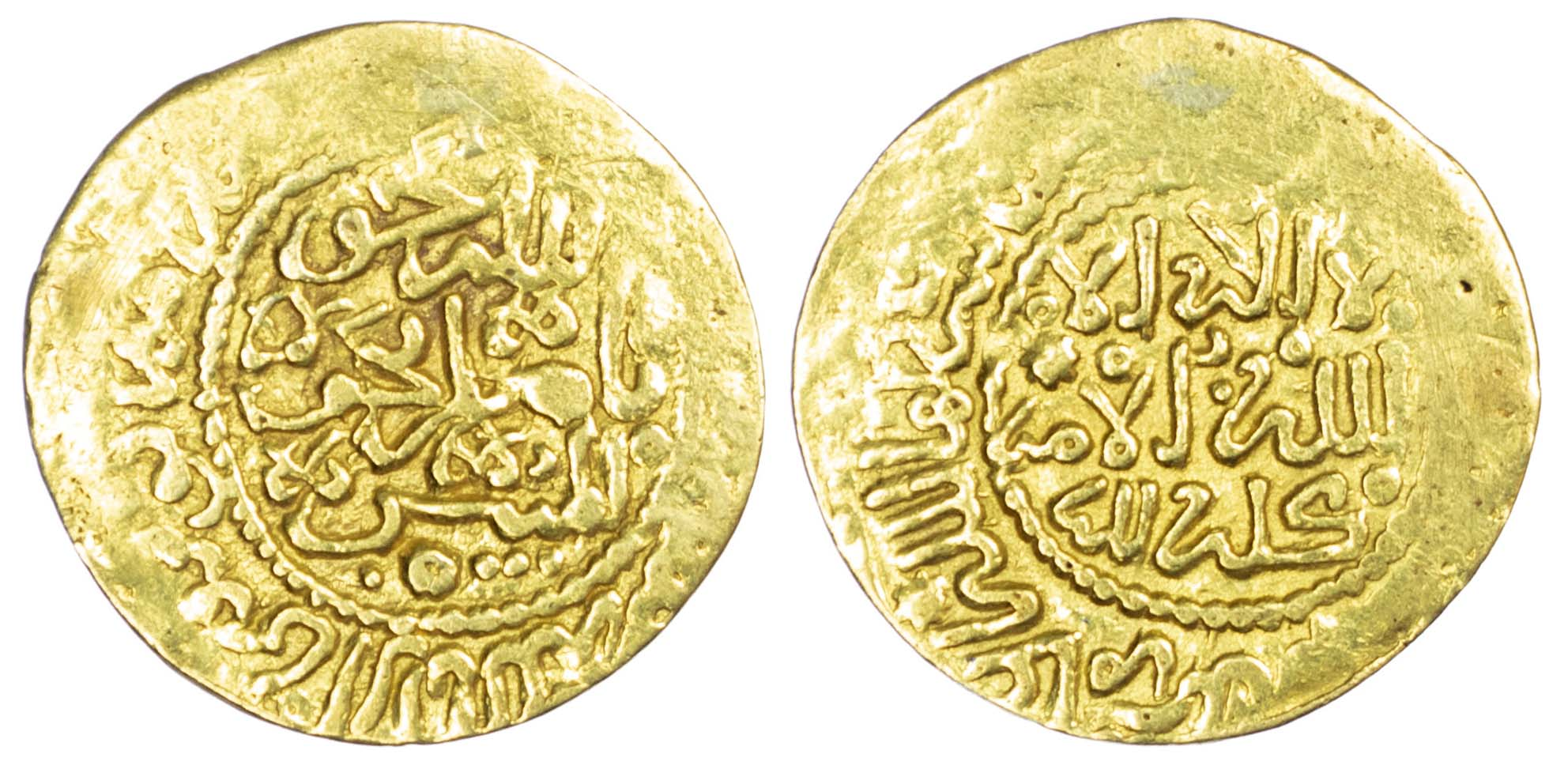 Morocco, 'Alawi Sharifs, Ismail Al-Samin (AH1082-1139 / 1672-1727 AD), gold Dinar Bunduqi