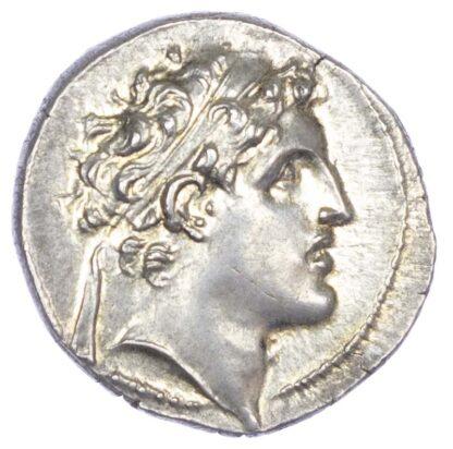 Seleucid Empire, Alexander I Balas AR Drachm