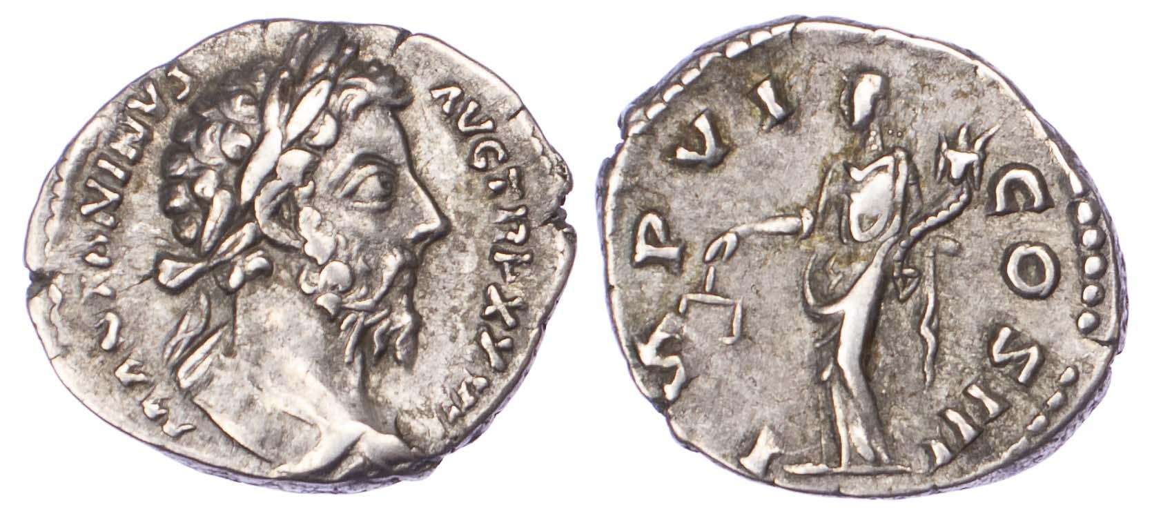 Marcus Aurelius, Silver Denarius