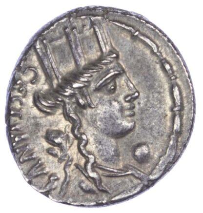 M. Plaetorius M.f. Cestianus, AR Denarius