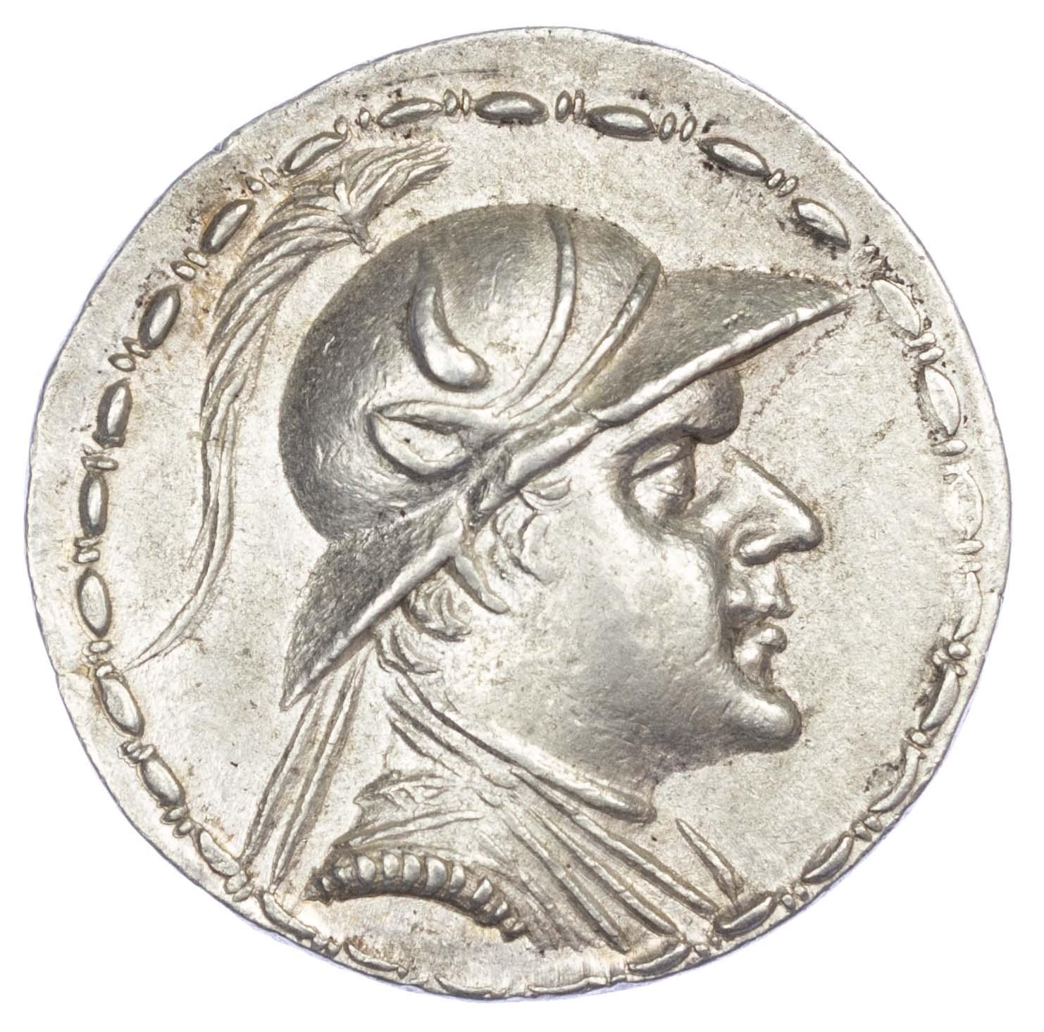 Baktria, Eukratides I AR Tetradrachm