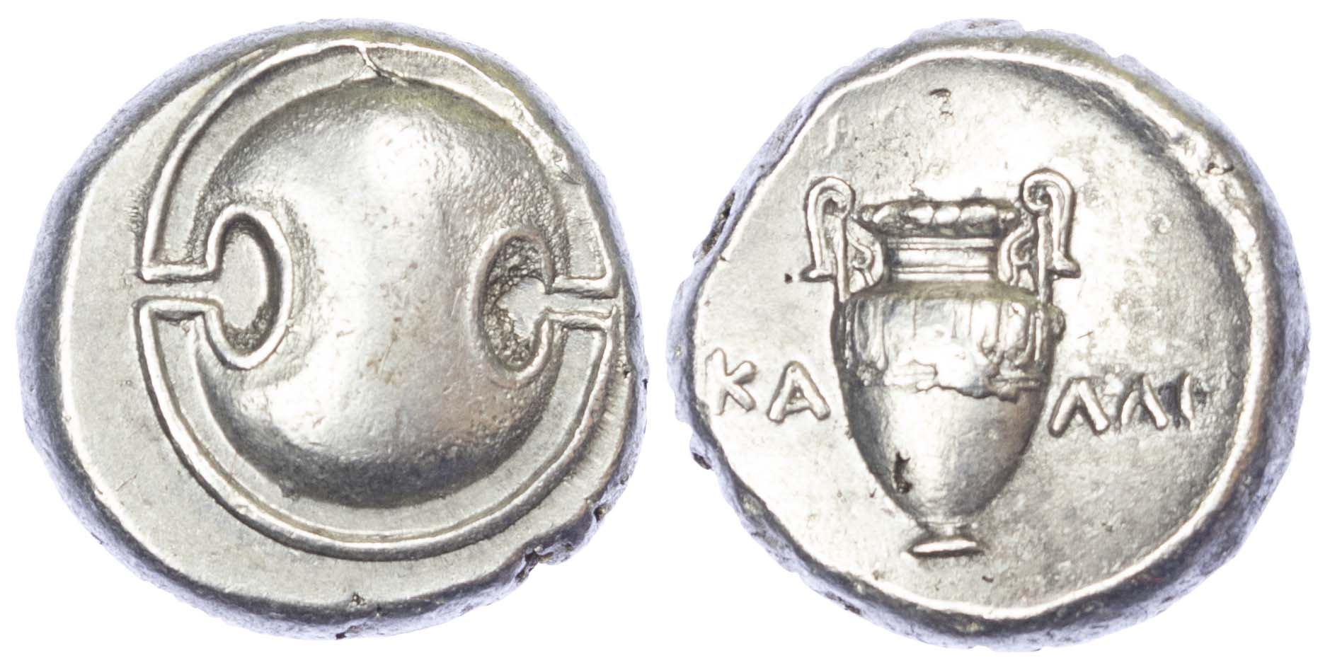 Boiotia, Thebes, Silver Stater