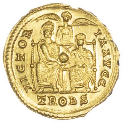Valens, Gold Solidus