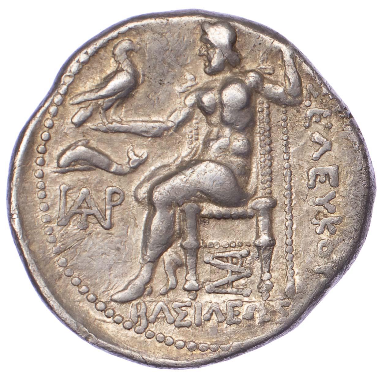 Antiochos I Soter, Silver Tetradrachm
