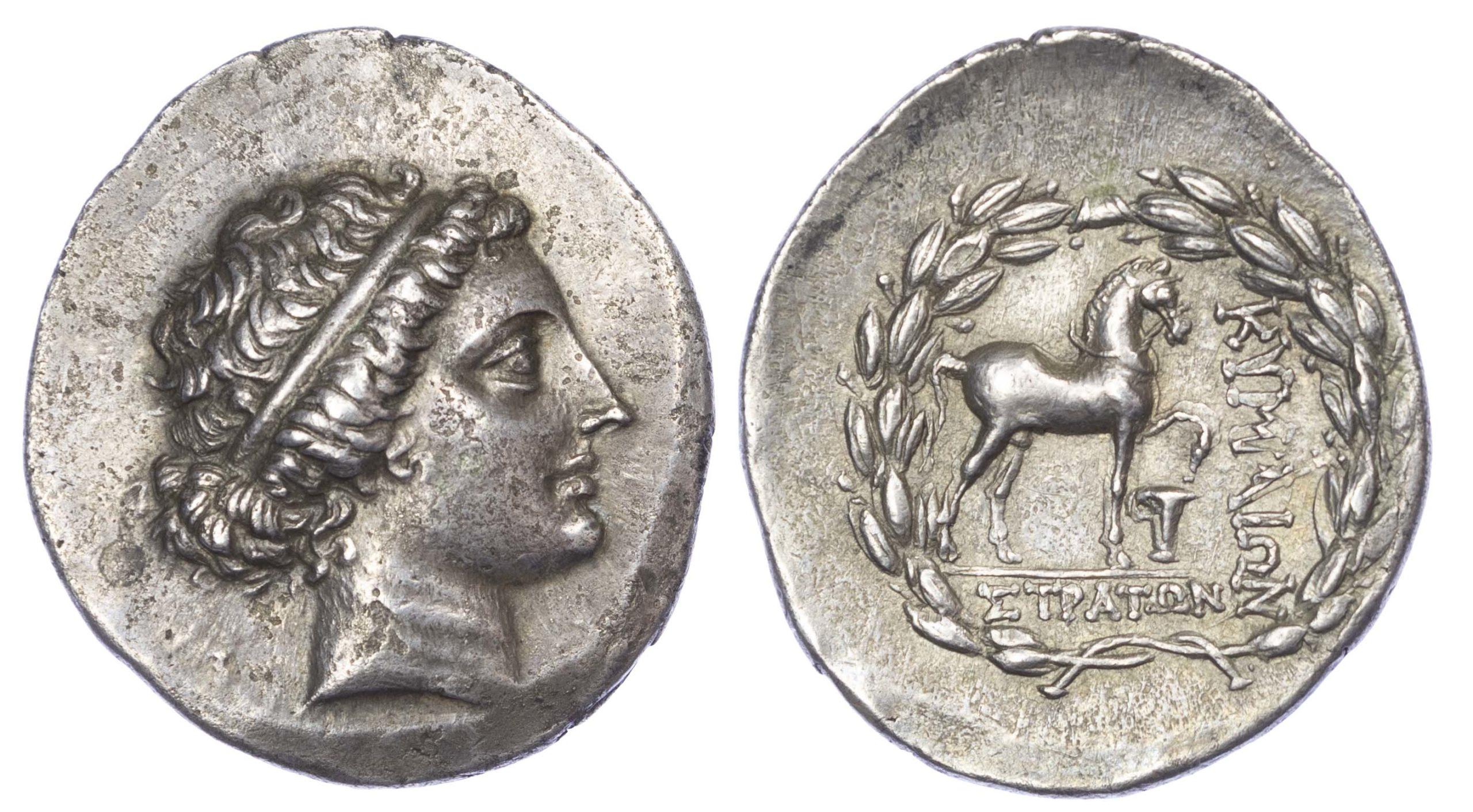 Aeolis, Kyme, Silver Tetradrachm