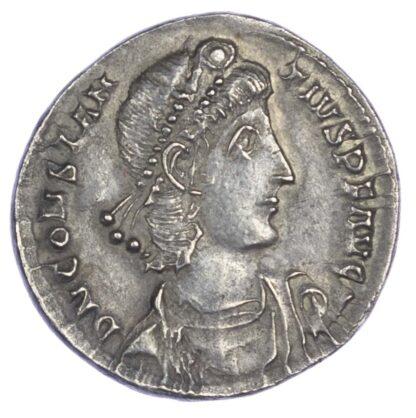 Constantius II, Thessalonica, Silver Light Miliarensis