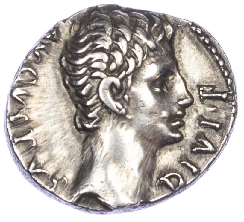 Augustus, Silver Denarius