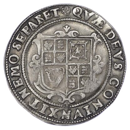 James I (1603-25), third coinage, Halfcrown