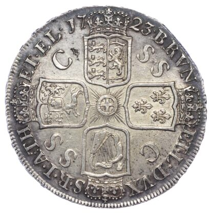 George I (1714-27), Crown, 1723