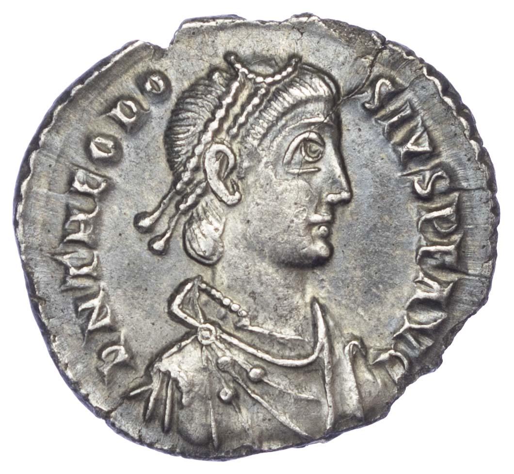 Theodosius I, Silver Miliarense