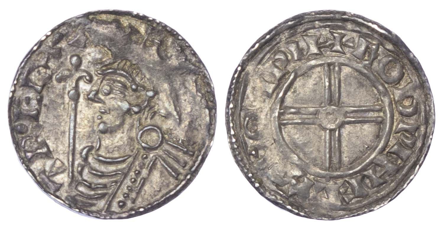 Canute (1016-35), Penny, Short cross type (c.1029-35/36), Winchester Mint