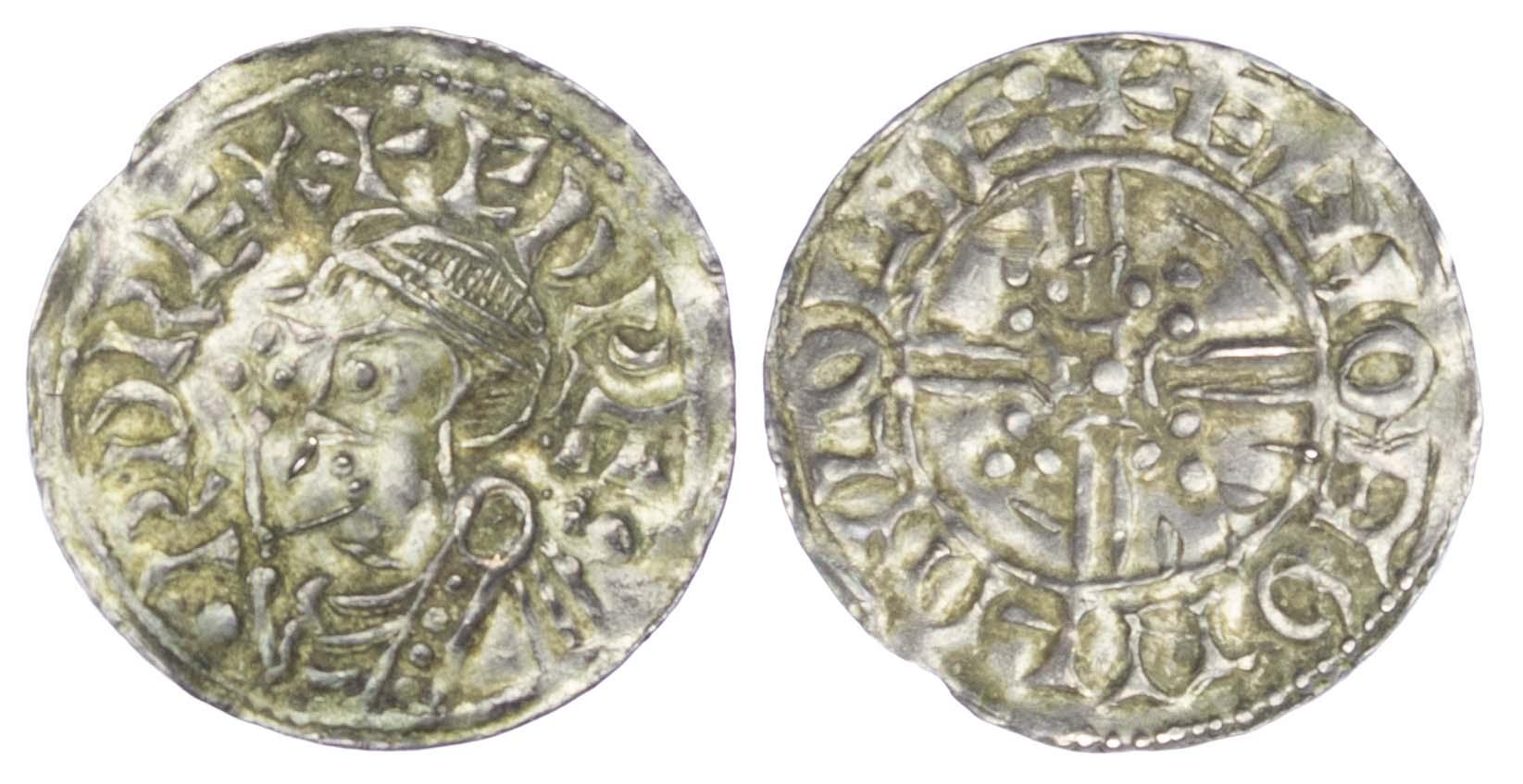 Edward the Confessor (1042-1066), Penny, Trefoil Quadrilateral, Lincoln