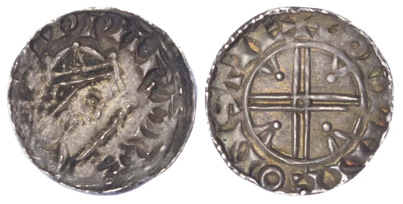 Edward the Confessor (1042-66), Penny, Pyramids type, Stafford mint