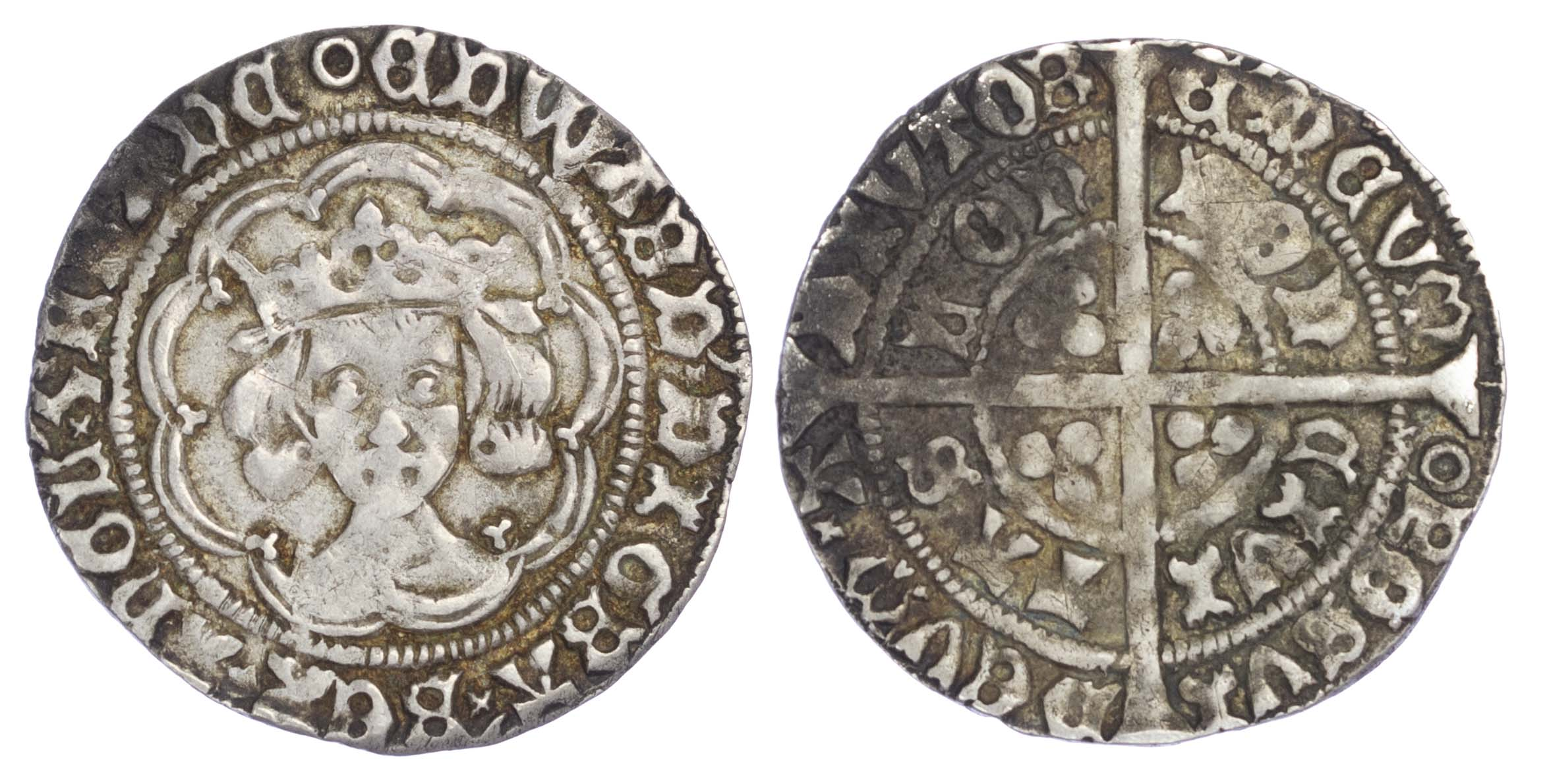 Edward IV (1471-1483), Second reign, Groat, London mint